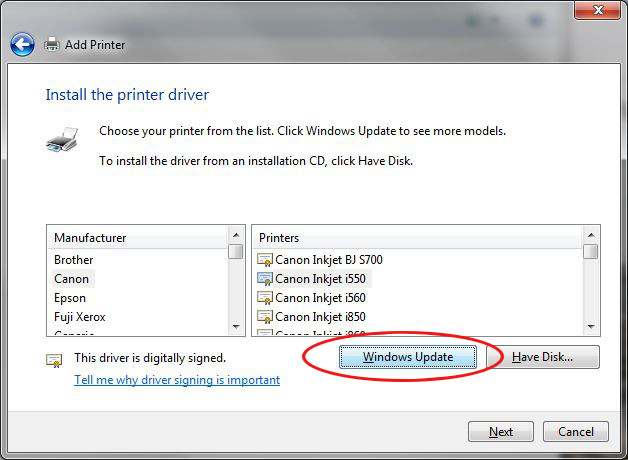 Windows 7 & Getting drivers for obsulete printers | Michls