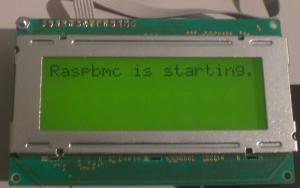 LCDproc start