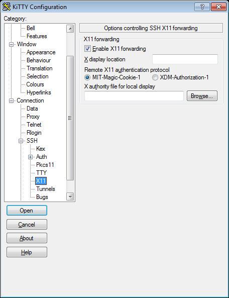 X11 forwarding in ssh connectionMichls Tech Blog
