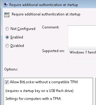 Enable Bitlocker without a TPM moduleMichls Tech Blog