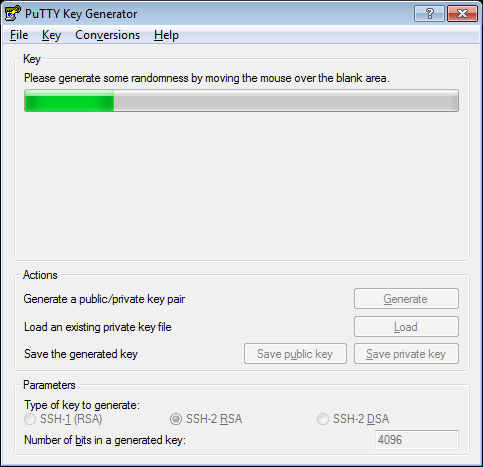 Create a ssh keypair with putty(gen) and install the public key on a linux  openssh server