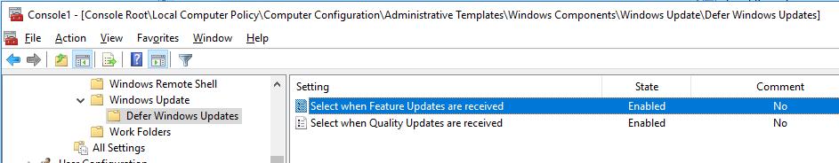 Windows: Cumulative Update cannot be installed on Windows