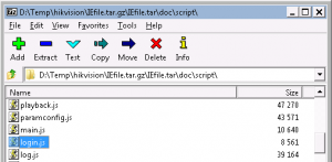 hikvision 7-zip Open IEfile.tar.gz