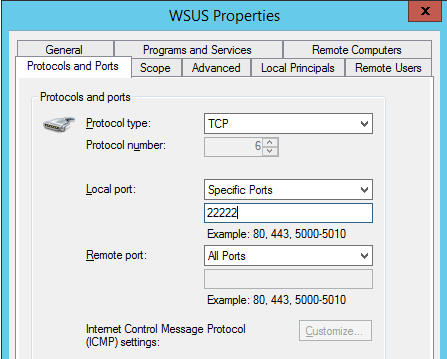 Windows: Setup a WSUS Server for Windows 10 Clients with
